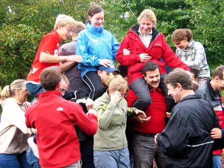teambuilding outdoor event